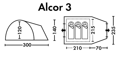 Alcor 3 схема